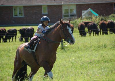 summer riding 2009